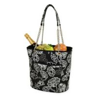 Picnic at Ascot Insulated Fashion Cooler Bag in Black