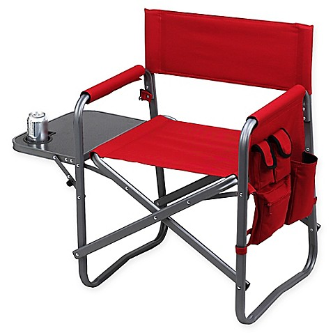 Picnic At Ascot Outdoor Deluxe Sports Chair With Side