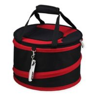 Picnic at Ascot 24-Can Collapsible Cooler in Black/Red