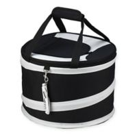 Picnic at Ascot 24-Can Collapsible Cooler in Black/Grey