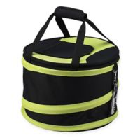 Picnic at Ascot 24-Can Collapsible Cooler in Black/Apple