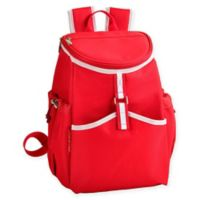 Picnic at Ascot Insulated Backpack Cooler in Red