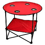 Picnic at Ascot Travel Folding Picnic Table in Red