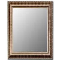 Hitchcock-Butterfield Cameo Ribbed 26-Inch x 36-Inch Mirror in Silver