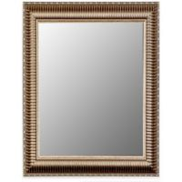 Hitchcock-Butterfield Cameo Ribbed 35-Inch x 45-Inch Mirror in Silver