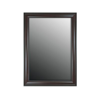 hitchcock butterfield 26 inch x 62 inch decorative wall mirror in green black