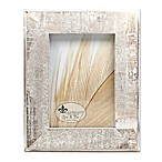 Lawrence Frames Weathered Woods 5-Inch x 7-Inch Picture Frame in Grey