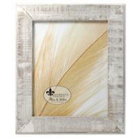 Lawrence Frames Weathered Woods 8-Inch x 10-Inch Picture Frame in Grey