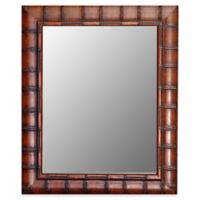 Hitchcock-Butterfield 30-Inch x 42-Inch Fruitwood Bamboo Wall Mirror