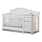 Sorelle Finley 4-in-1 Convertible Crib and Changer in White