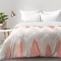DENY Designs Zoe Wodarz ZigZagZig King Comforter in Pink