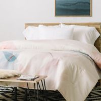 DENY Designs Iveta Abolina Coral Shoreline Twin Comforter in Pink