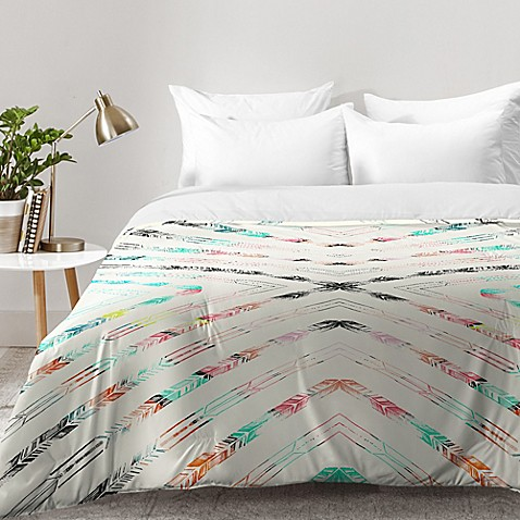 Image Of Deny Designs Pattern State Valencia Comforter In Blue