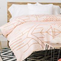 DENY Designs Holli Zollinger Esprit King Comforter in Gold