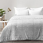 Deny Designs Dash and Ash Stars Above King Comforter in Grey