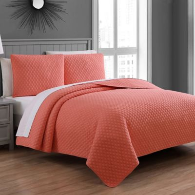 Buy Coral Quilt Bedding from Bed Bath & Beyond : coral quilts - Adamdwight.com