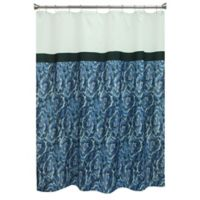 Bacova Agate Shower Curtain in Blue