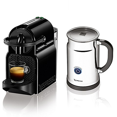 nespresso inissia bundle espresso machine bed bath beyond. Black Bedroom Furniture Sets. Home Design Ideas