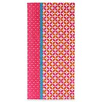 Clairebella™ Cirque Beach Towel in Pink
