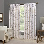 Willow 84-Inch Back Tab Window Curtain Panel in Amethyst