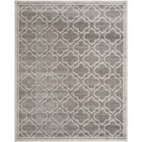 Safavieh Amherst Belle 6-Foot x 9-Foot Indoor/Outdoor Area Rug in Grey/Light Grey