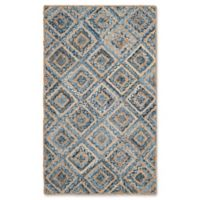Safavieh Cape Cod Diamond Tiles 2-Foot 3-Inch x 4-Foot Accent Rug in Blue