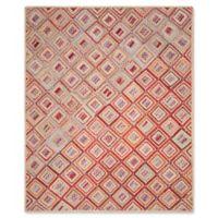 Safavieh Cape Cod Diamond Tiles 6-Foot x 9-Foot Area Rug in Red