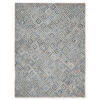 Safavieh Cape Cod Diamond Tiles 9-Foot x 12-Foot Area Rug in Blue