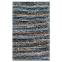 Safavieh Cape Cod Horizontal 4-Foot x 6-Foot Area Rug in Blue/Natural