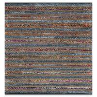 Safavieh Cape Cod Stripes Multicolor 4-Foot Square Accent Rug