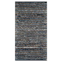 Safavieh Cape Cod Squares 2-Foot 3-Inch x 4-Foot Accent Rug in Blue