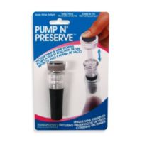 Pump N' Preserve™ Wine Stopper