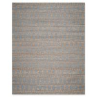 Safavieh Cape Cod Diamond Trellis 8-Foot x 10-Foot Area Rug in Light Blue/Gold