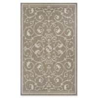 Couristan® Recife Veranda 3-Foot 9-Inch x 5-Foot 5-Inch Accent Rug in Champagne/Taupe