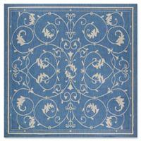 Couristan® Recife Veranda 8-Foot 6-Inch Square Area Rug in Champagne/Blue
