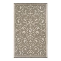 Couristan® Recife Veranda 7-Foot 6-Inch x 10-Foot 9-Inch Area Rug in Champagne/Taupe