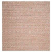 Safavieh Cape Cod Geometric 6-Foot Square Area Rug in Blue/Rust