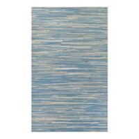 Couristan® Monaco Alassio 7-Foot 6-Inch x 10-Foot 9-Inch Indoor/Outdoor Area Rug in Sand/Azure