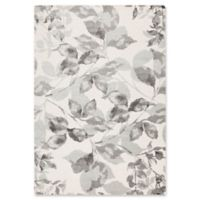 Surya Aberdine Floral 2-Foot 2-Inch x 3-Foot Accent Rug in Grey