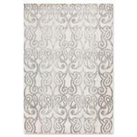 Surya Aberdine Ikat 2-Foot 2-Inch x 3-Foot Accent Rug in Grey