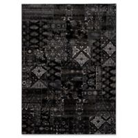 Surya Amadeo 2-Foot x 3-Foot Accent Rug in Black