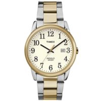 Timex® Easy Reader® Men's 38mm Classic White Dial Watch in Two-Tone Stainless Steel