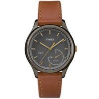 Timex® Women's 37mm IQ+ Move Activity Tracker Watch in Brown/Black