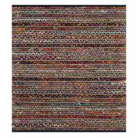 Safavieh Cape Cod Grid 4-Foot Square Multicolor Area Rug