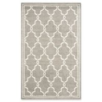Safavieh Amherst Quake 5-Foot x 8-Foot Indoor/Outdoor Area Rug in Dark Grey/Beige