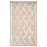 Safavieh Amherst Quake 6-Foot x 9-Foot Indoor/Outdoor Area Rug in Wheat/Beige