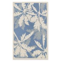 Couristan Monaco 5-Foot 3-Inch x 7-Foot 6-Inch Area Rug in Ivory/Sapphire