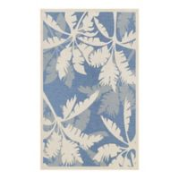 Couristan Monaco 7-Foot 6-Inch x 10-Foot 9-Inch Area Rug in Ivory/Sapphire