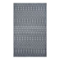 Couristan® Casbah Aria 3-Foot 5-Inch x 5-Foot 5-Inch Area Rug in Pewter