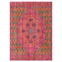 Style Statements by Surya Etum 2-Foot x 3-Foot Accent Rug in Bright Pink